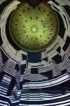 """Lichtinstallation """"320° Licht"""" von Urbanscreen im Gasometer Oberhausen im Rahmen der Ausstellung """"Der schöne Schein"""", 2014Foto: Wolfgang Volz"""