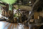 Multi-story indoor fantasy-tree structure